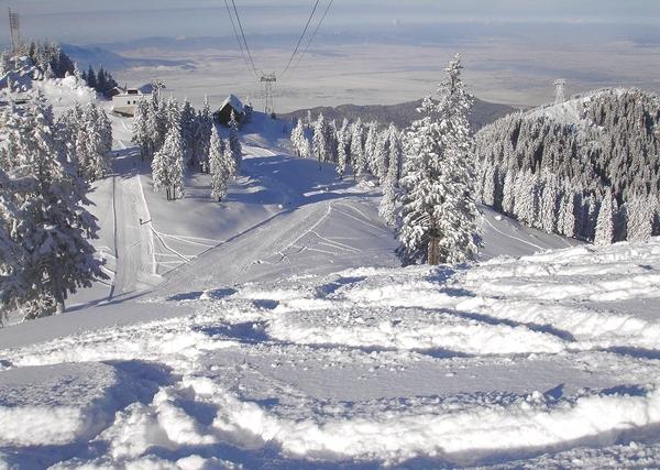Skifahren in der Karpaten